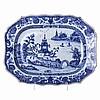 Platter in Chinese porcelain, Guangzhou