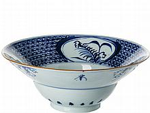 Spit bowl in Chinese porcelain, Daoguang