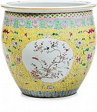 Fish bowl in Chinese porcelain