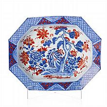 Hollow platter in Chinese porcelain, Qianlong