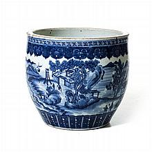 Aquarium in Chinese porcelain, Tongzhi