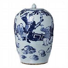Vase in Chinese porcelain, Tongzhi