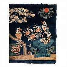 Chinese carpet with phoenixes