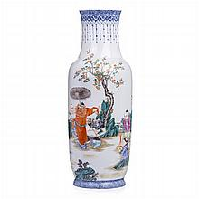 Vase 'figures' in Chinese porcelain