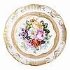 Painted plate, Vista Alegre, Alberto Pimentel
