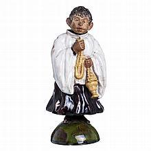 Figure of 'Sacristan' movement by Bordalo Pinheiro