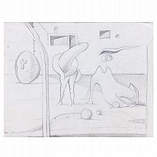CRUZEIRO SEIXAS (born in 1920) - 'Sem título' (Untitled)