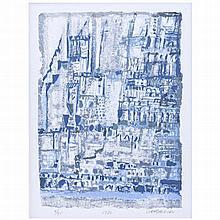 MANUEL CARGALEIRO (born in 1927) - 'Sem título' (Untitled)