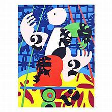 JOSÉ DE GUIMARÃES (born in 1939) - 'Sem título' (Untitled)