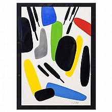 XAVIER ZEVACO (1925-2004) - 'Untitled'