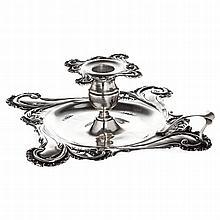 Chamberstick in boar silver