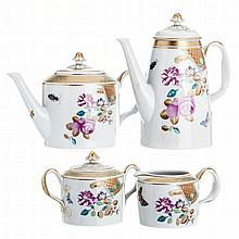 Tea and coffee set by Vista Alegre
