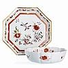 Deep saucer and salad bowl by Vista Alegre