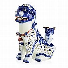 Fó dog candlestick by Vista Alegre