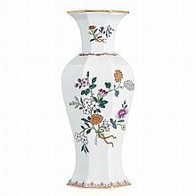 Octagonal vase of Vista Alegre