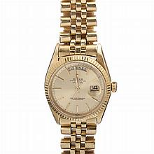 ROLEX - Oyster watch in gold