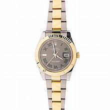 ROLEX - Wristwatch 'Oyster Perpetual Datejust'