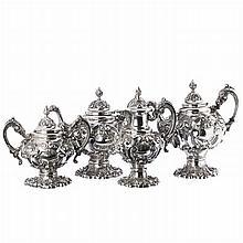Set in silver, D. João V style