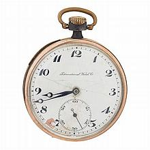 INTERNATIONAL WHATCH Cº - Pocket watch