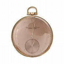 INTERNATIONAL WHATCH Cº - Pocket watch in gold