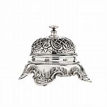 Table bell in silver