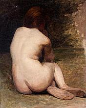JÚLIO RAMOS (1868-1945) - 'Study for female nude'