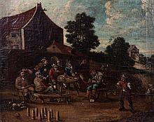 DUTCH SCHOOL, 17th century - 'Palm game'