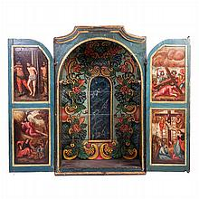 Painted oratory, 17th century