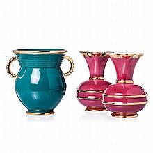 ALELUIA - Three modernist vases
