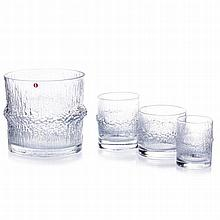 TAPIO WIRKKALA (1915-1985) - Set of Niva glasses