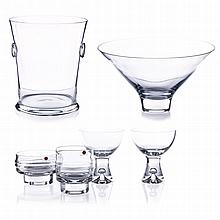 IITALA - Serving set in glass