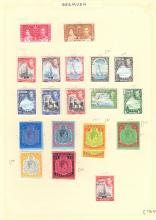 BRITISH COMMONWEALTH STAMPS, mostly good to fine QV to QEII collection on album pages with many useful & better stamps & sets. Inc Australia 1932 5/- Sydney Bridge mint & used, Gibraltar GVI set to £1 mint, useful Hong Kong sets mint & used, India GVI 1937 set to 25r mint, Montserrat sets, New Zealand etc. STC £13,500+. (100s)