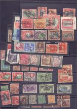 Posted at Sea, selection of British Commonwealth & foreign stamps all with 'Posted at Sea' or 'Posted on Board' cachets & datestamps, either on piece or off paper. (80+ items)