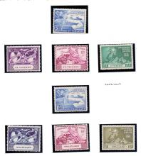 STAMPS : 1949 UPU, selection on album pages of Commonwealth U/M sets (10)