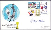 SIGNED AUTOGRAPH COVER : FOOTBALL : GEORGE COHEN 1966 World Cup match cover signed.