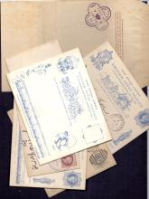 GREAT BRITAIN FIRST DAY COVERS : 1890 Jubilee, small batch of covers including first day of issue cancels 2nd July 1890, Harry Furness mint card and envelope etc (7)