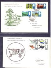 GREAT BRITAIN FIRST DAY COVERS : 1960's First Day Covers in album noted to include some unusual illustrated covers, all either unaddressed or typed addressed (50 covers ).