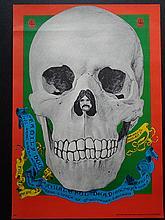1967-FD-082-01 DENNIS NOLAN    Grateful Dead Original Family Dog Denver Co Affiche originale, première édition d'époque Très bon état (trou de punaise dans le coin droit supérieur, léger pli horizontal sur 15cm) 50,5 x 35,5 cm