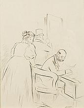 FORAIN Jean-Louis (1852-1931)   Le Comptable