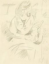 LHOTE ANDRE (1885-1962)   Etude pour la Souillarde à Gordes