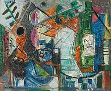Lan Bar David (1912-1987)   Sans titre, 1952