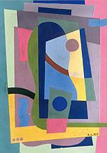 LARTIGUE ANDRé (1924-1993)   Composition cubiste