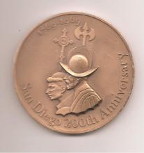 San Diego  US Mint 200th Anniversary Medal
