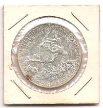 1967 25th Anniversary  US Navy Seabees, Silver Token