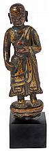 A FIGURE OF A MONK, TIBET, 16TH CENTURY