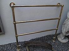 Brass Plated Wall Mounted Towel Rail 40 Inches