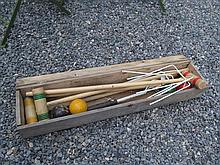 Croquet Set Complete in Case