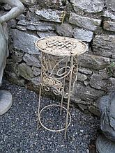 Cast Metal Occasional Table