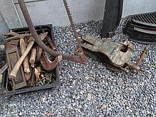 Metal Bench Vice and Various Other Tools