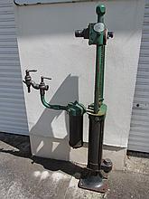 Edwardian Petrol Pump 58 Inches High